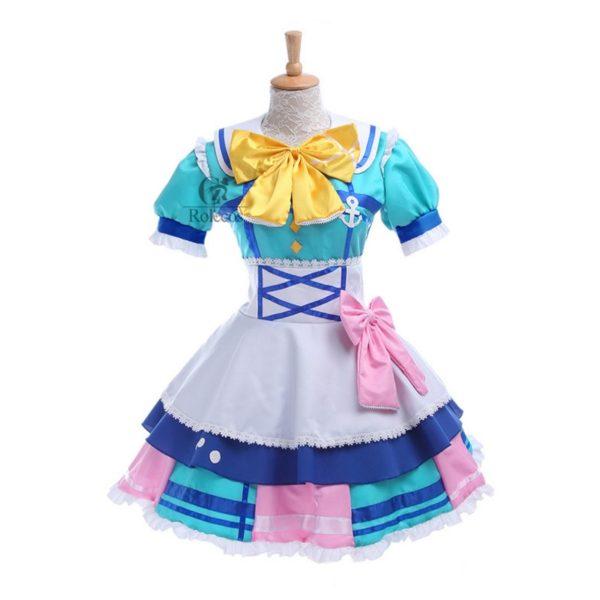 Cosplay Customes Takami Chika Sakurauchi Riko Matsuura kanan Kurosawa Ruby Ohara Mari Tsushima Yoshiko Dress