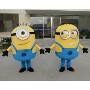 Despicable me minion mascot costume for adults