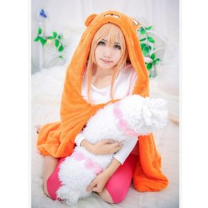 Dried fish sister! Umar chan cosplay clothes dolls cos air conditioning blanket cosplay clothing