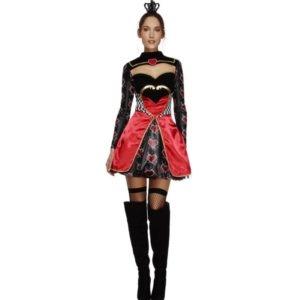 Female Poker Queen Cosplay Halloween Party Pricess dress