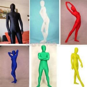 Full Body Spandex Cosplay Clothes Skin Suit Catsuit Halloween