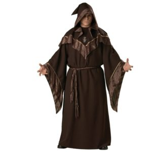Gothic Wizard Costume European Religious Men Priest Uniform Fancy Cosplay Costume for Men