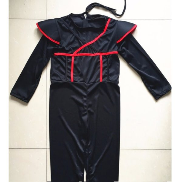 Halloween Cosplay Costume Martial Arts Ninja Costumes For Kids Fancy Party Decorations Supplies Uniforms