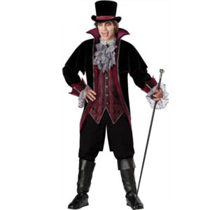 Halloween Cosplay Man Vampire Costume Party Clothing for adult