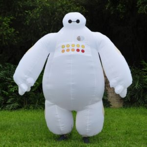 Halloween Inflatable costume Big Hero 6 Baymax Party Cosplay costume for men adult
