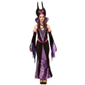 Halloween Wicth costume Queen dress dress cloak Bar Game Cosplay costume