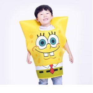 19703-Halloween-costumes-for-kids-cartoon-sponge-costumes-1