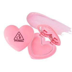 KOREAN COSMETICS [3CE] Heart Pot Lip (Tinted Pink)