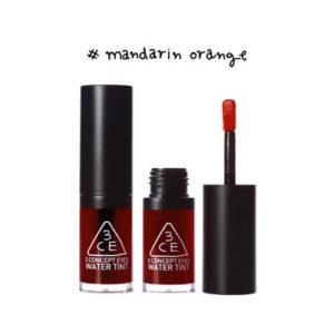 KOREAN COSMETICS [3CE] Water Tint #Mandarin Orange 6ml