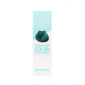 KOREAN COSMETICS [AprilSkin] Turn-Up Color Treatment #Green Blue