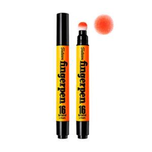 KOREAN COSMETICS [Chosungah16] Finger Pen #FA03 (Orange)