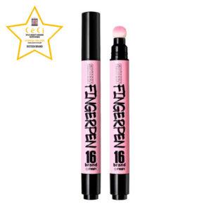 KOREAN COSMETICS [Chosungah16] Finger Pen #FM01 (Gangs Pink)