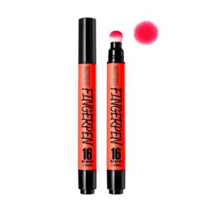 KOREAN COSMETICS [Chosungah16] Finger Pen #FM04 (Poppy Red)