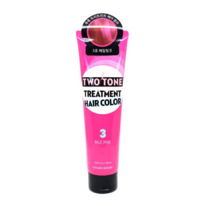 KOREAN COSMETICS [Etude house] Two Tone Treatment Hair Color #03 (Pale Pink)