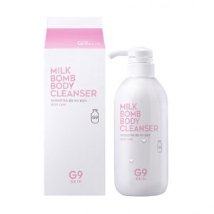 KOREAN COSMETICS [G9SKIN] Milk Bomb Body Cleanser 500ml