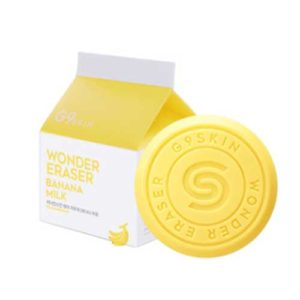 KOREAN COSMETICS [G9SKIN] Wonder Earser Soap #Banana milk