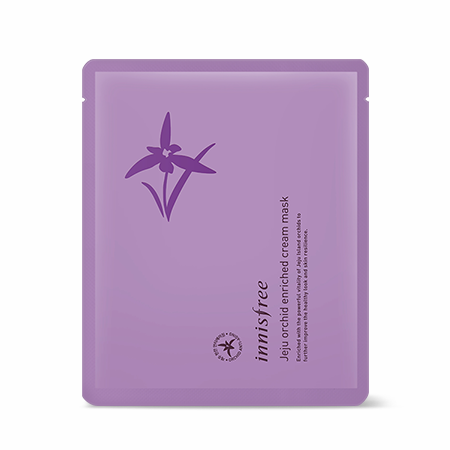 KOREAN COSMETICS [Innisfree] Jeju Orchid Enriched Cream Mask 16g 1ea