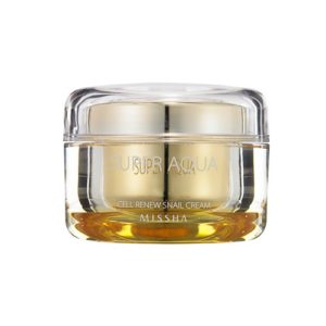 KOREAN COSMETICS [Missha] Super aqua cell renew snail cream