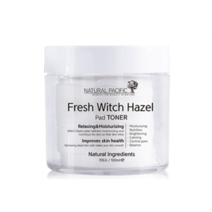 KOREAN COSMETICS [Natural Pacific] Fresh Witch Hazel Pad Toner