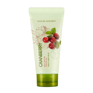 KOREAN COSMETICS [Nature Republic] Real Natural fermentation CranBerry peeling gel