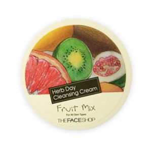 KOREAN COSMETICS [The face shop] Herbday Cleansing Cream Fruit Mix 150ml