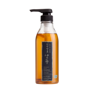 KOREAN COSMETICS [WhaMiSa] Organic Seed Shampoo 500ml (Oily Scalp)