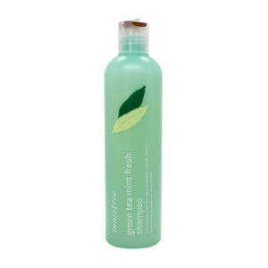 KOREAN COSMETICS [innisfree] Green tea mint fresh shampoo 300ml