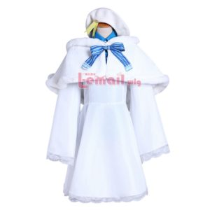 Love Live! Rin Hoshizora Winter Cosplay Costume