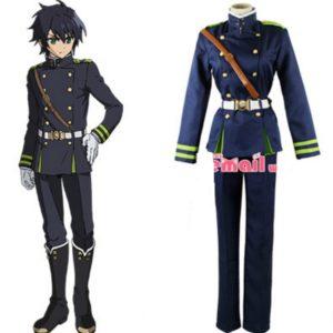 Men Anime Seraph Of The End Yuichiro Hyakuya Cosplay Costume