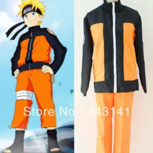 Naruto Shippuden Uzumaki II Cosplay Costume Halloween Party Cosplay