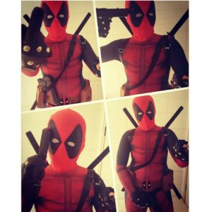 Onepiece Cosplay Men Adult Superhero Cosplay Deadpool Costume Halloween Costume Deadpool Cosplay Costume for Kids