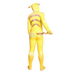 Pikachu Zentai Suit Pikachu Fullbody Cosplay Costume