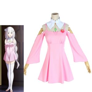 Pink Lolita Dress For Girl Emilia Daily Casual Clothing
