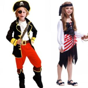 Pirate Costumes Halloween Cosplay for Kids