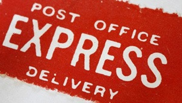 Post Office Express Mail for Color Contact Lenses