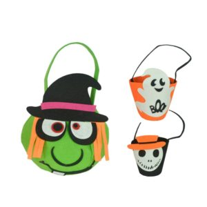 Pumpkin Ghost Witch Shape halloween Candy bag for kids
