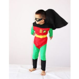 Robin Costume Halloween Costume For Kids Boy Anime Role-Playing Disfraces Carnival Toddler Costume