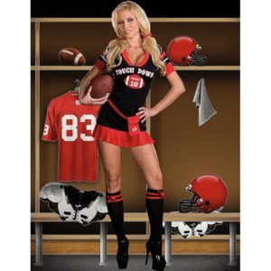 Rugby Cheerleading Glee Cheerleader Costume Aerobics Clothing Uniforms for Performances Halloween Fancy Dress
