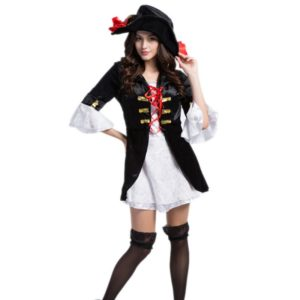 Sexy Halloween Pirate Costume for Women Fancy Dress Witch game clothing party Cosplay Dress