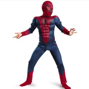 Spiderman Movie Classic Muscle Child halloween infantiles costume for kids