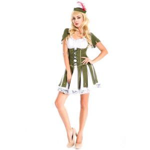 Women Pirate Costume Halloween Fancy Party Dress