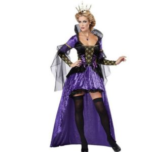 Womens Royal Queen of Hearts Elite Costume