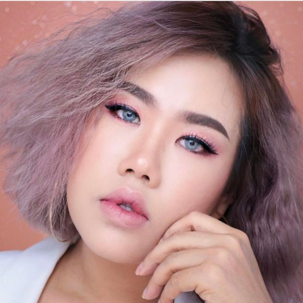 COLOR LENS DUEBA ADELE GRAY CONTACT LENS