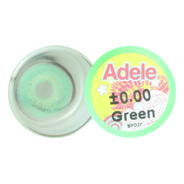 COLOR LENS DUEBA ADELE GREEN CONTACT LENS