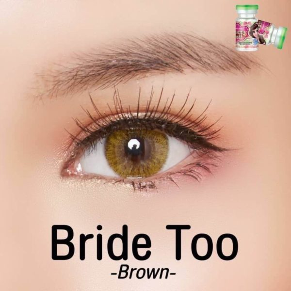 COLOR LENS DUEBA BRIDE TOO BROWN CONTACT LENS
