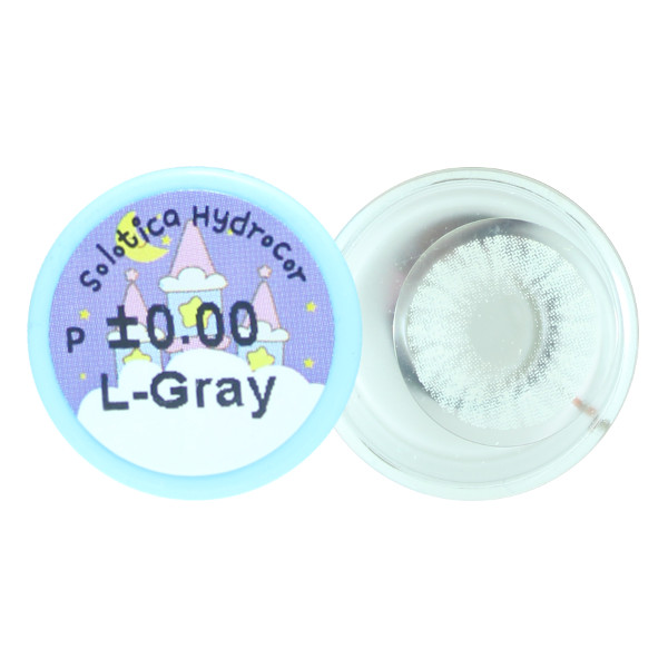 DUEBA HIDROCOR SILVER LIGHT GRAY CONTACT LENS