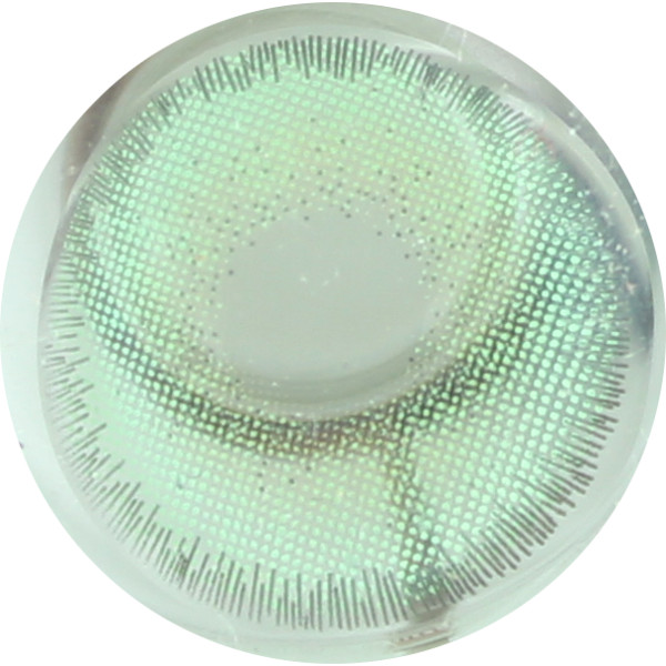 DUEBA KWANUSA GREEN CONTACT LENS