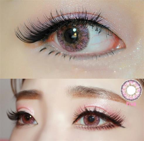 DUEBA VIRGIN PINK CONTACT LENS