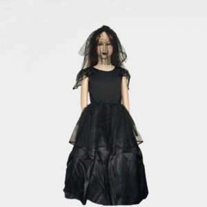halloween costume for kids girls Ghost bride costumes sets