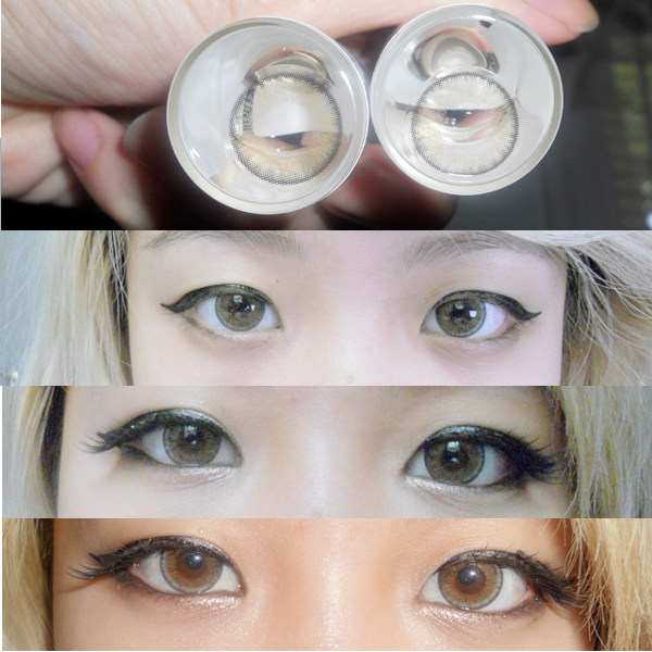NEO VISION SHIMMER HONEY CONTACT LENS